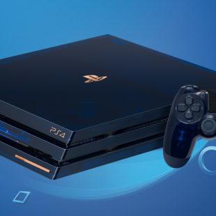 PS4 Pro 2To Édition Limitée 500 Millions