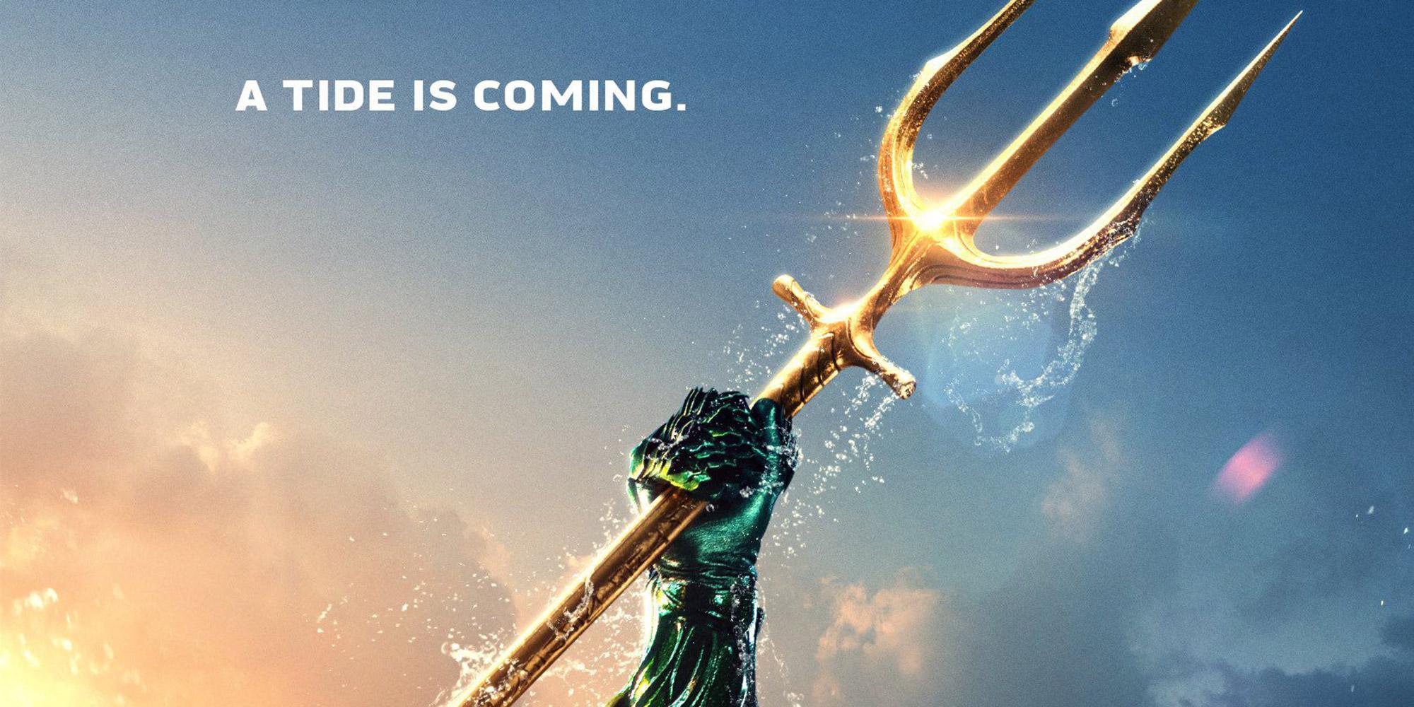 2nd trailer pour Aquaman… et il est long !