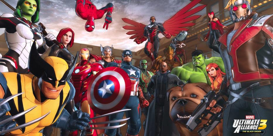 Marvel Ultimate Alliance 3 en exclu sur Switch !