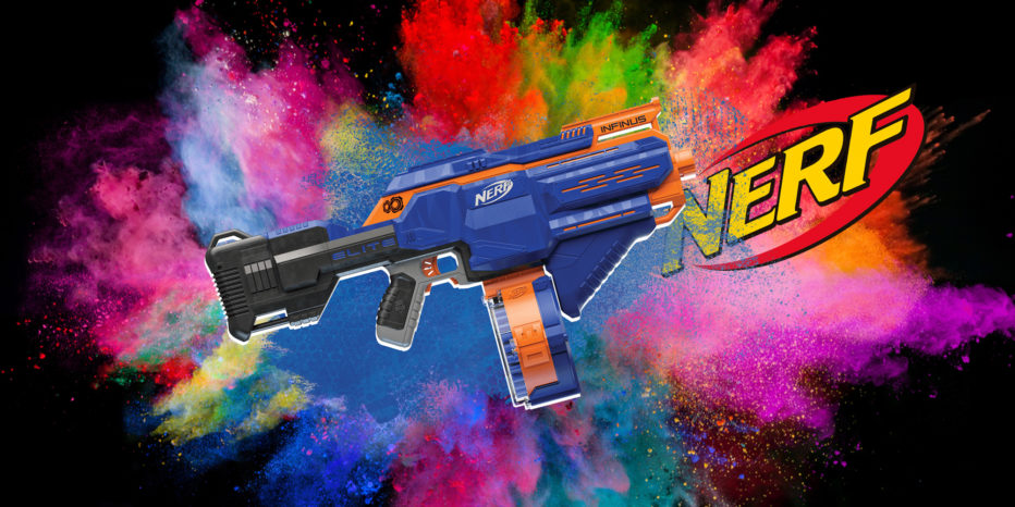 Test du NERF ELITE INFINUS