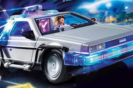 Des Playmobil Retour vers le Futur !