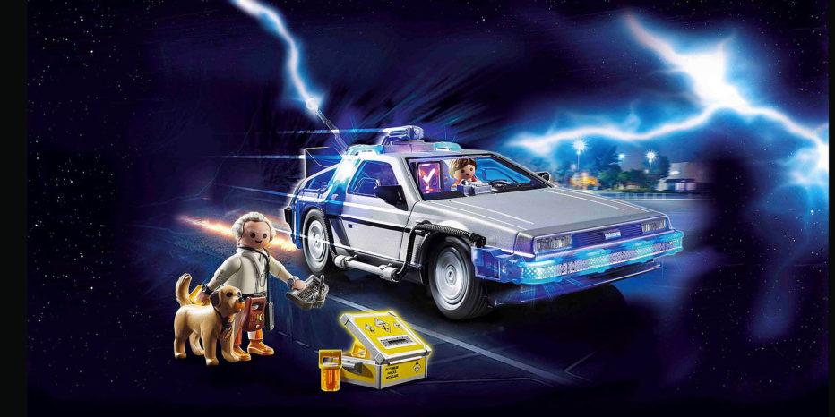 Les Playmobils Retour Vers Le Futur !