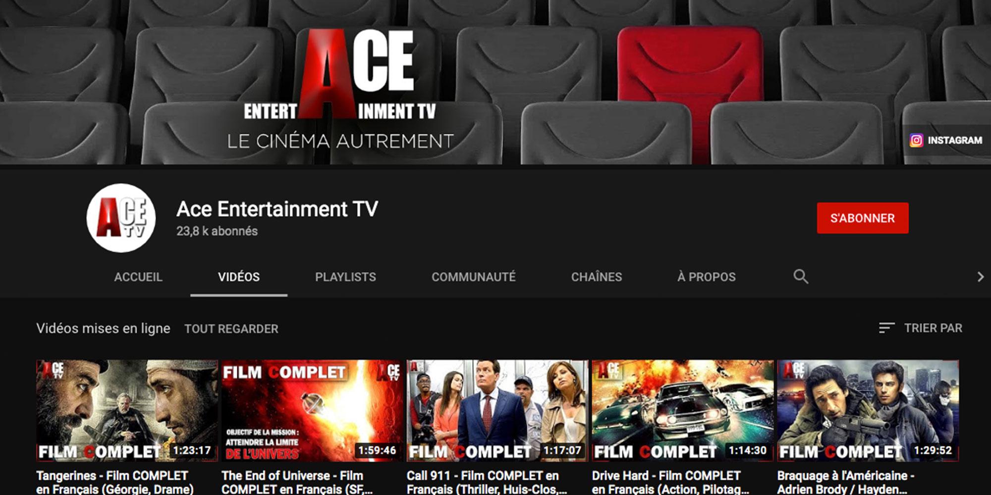 Des Films HD 100% gratuits sur Youtube !