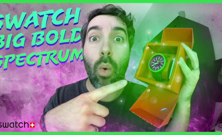 Je vous présente la montre Swatch BIG BOLD SPECTRUM !