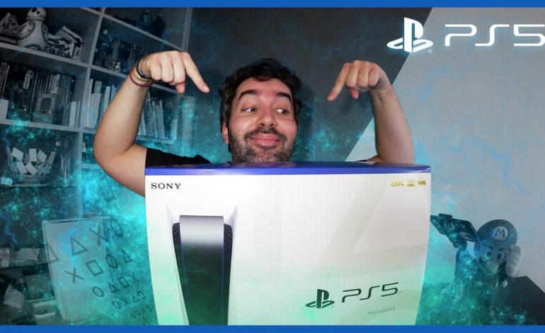 On y est : voici enfin la PS5 !!!