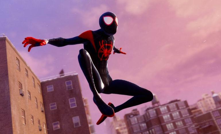 Du gameplay pour le skin Spider-Man: Into the Spider-Verse de Miles Morales sur PS5