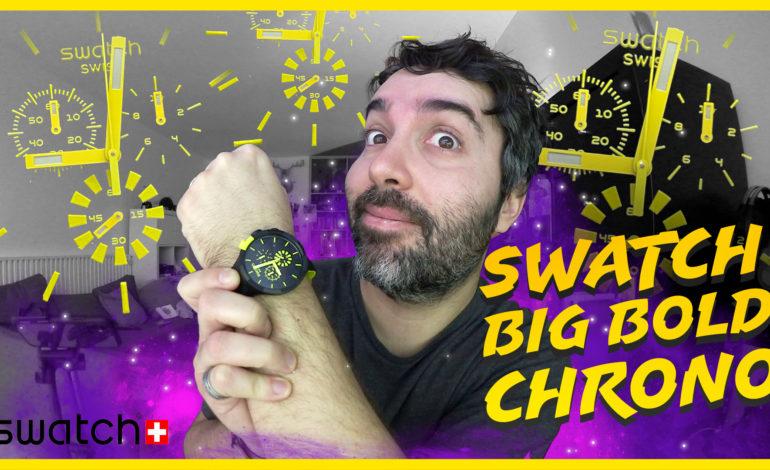 Voici la Swatch BIG BOLD CHRONO !