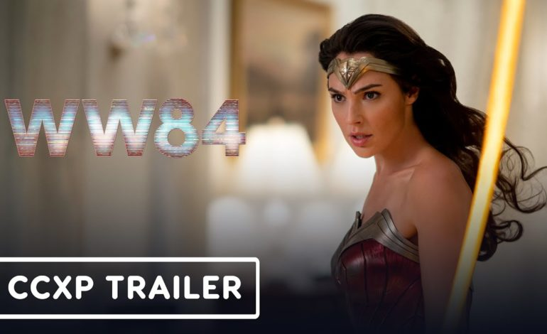 Wonder Woman 1984 – Bande-Annonce Officielle Comic Con