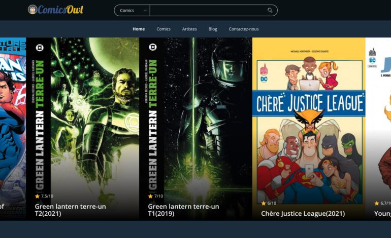 Découvrez le site ComicsOwl.com
