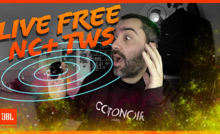 Test des écouteurs JBL Live Free NC+ Tws