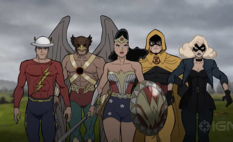 Un premier trailer pour Justice Society : World War II