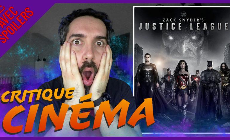 Découvrez mon avis AVEC SPOILERS sur la Zack Snyder's Justice League