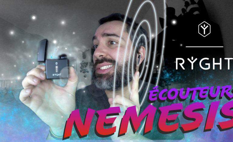 Je test les écouteurs Nemesis de chez RYGHT