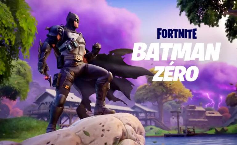 Batman rejoint une nouvelle fois l'univers Fortnite…