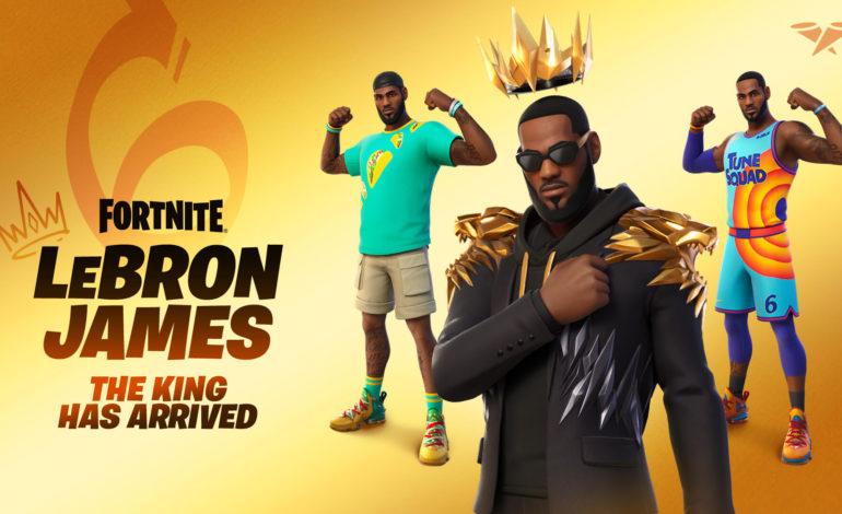 Le King débaque dans Fortnite !