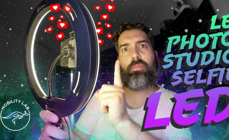 Photo Studio Selfie LED pour tourner vos vidéos !