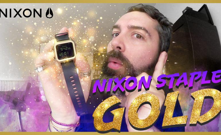 Découvrez la NIXON STAPLE GOLD !